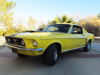 Special Paint 1968 428-Cobra Jet Fastback Mustang