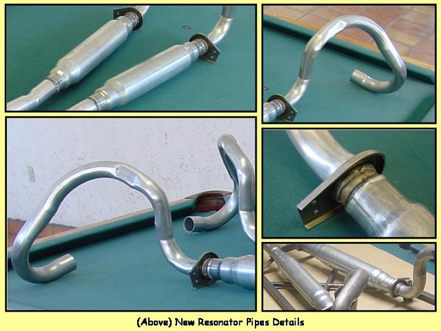 1967/1968 Intermediate/Resonator pipes - $1,195/pair + shipping
