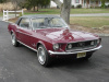 Royal Maroon 1968 Sprint B Mustang Coupe